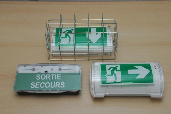 eclairage de securit rif rapide intervention sur feux. Black Bedroom Furniture Sets. Home Design Ideas